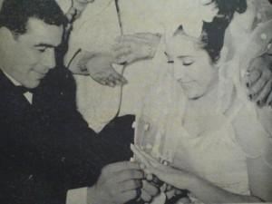 عکسی از مراسم عروسی تختی