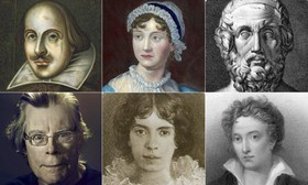 ۵۰ نویسنده شاخص تاریخ ادبیات به گزارش گاردین